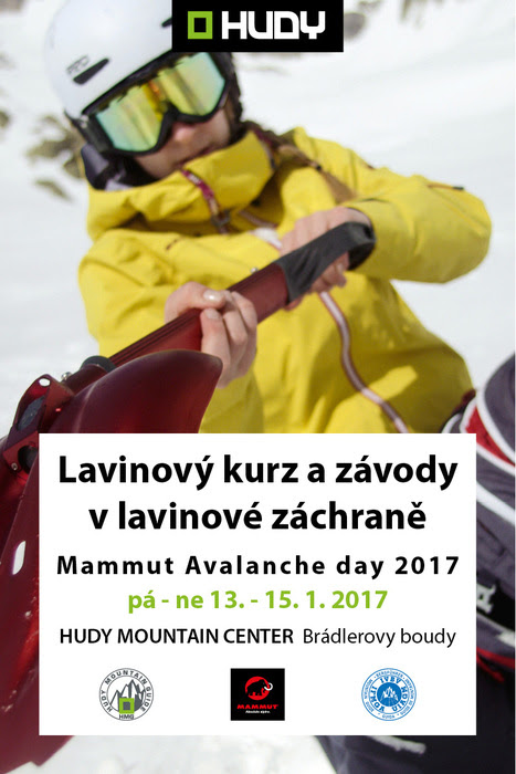 Hudy MAMMUT avalanche day 2017